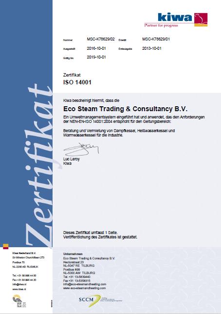 ISO 14001 D Steam