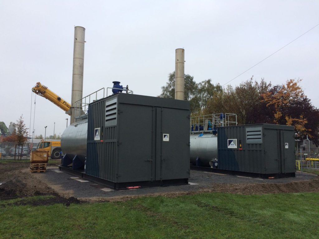 Heißwasserkesseln Enercity Hannover