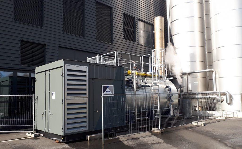 Dampfkessel bei einen Lebensmittel Hersteller - Eco Steam and ...