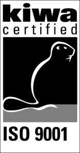 Kiwa ISO 9001 logo UK