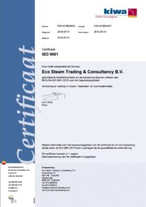 steam iso 9001 NL