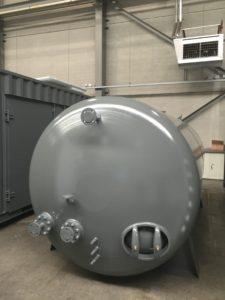 Voedingwatertank