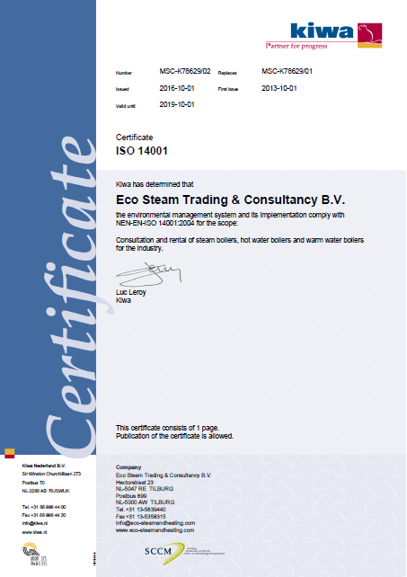 ISO 14001 E Steam